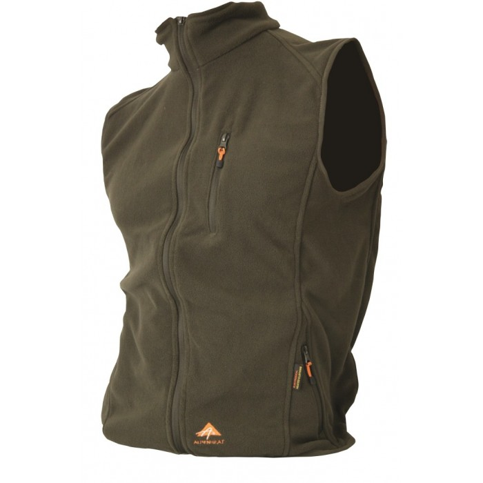 Fire Fleece bodywarmer met verwarmingelement