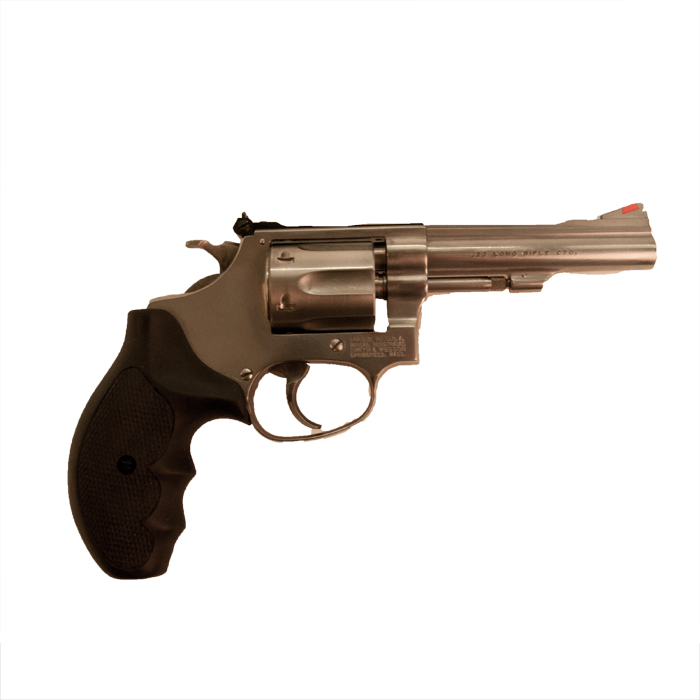 Smith & Wesson mod. 63-3 kal. 22 LR VERKOCHT