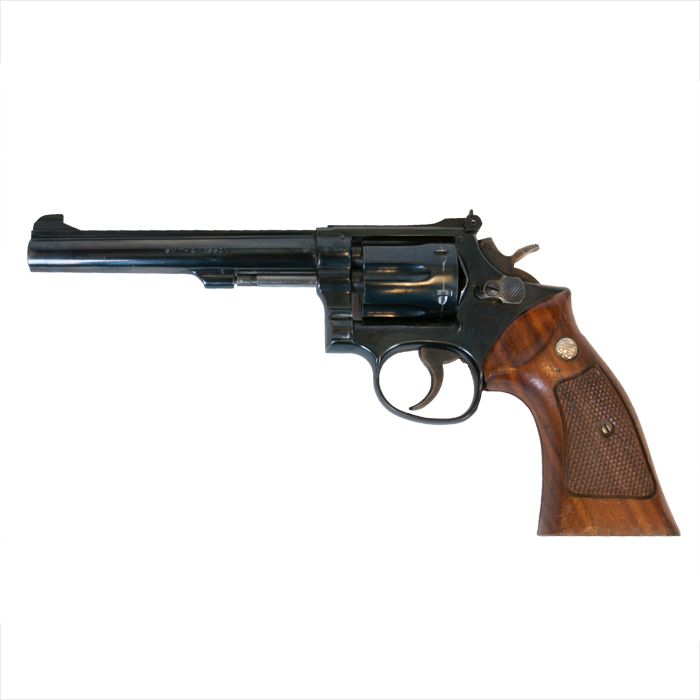 Smith & Wesson mod. 17 kal. 22 LR  VERKOCHT