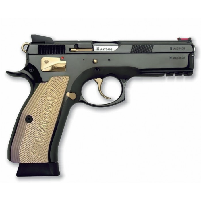 CZ 75 SP 01 Shadow Gold kal. 9 mm  Verkocht