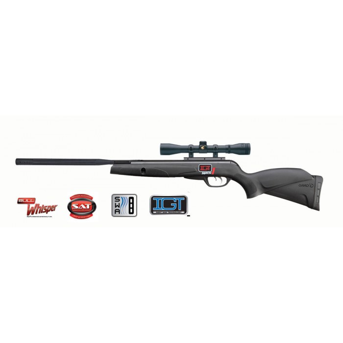 Gamo Black Bull IGT Mach 1 5,5 mm Set aanbieding