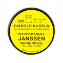 Wapenhandel Janssen Match 4,5 mm