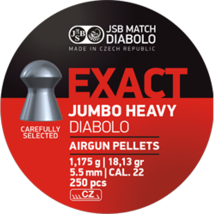 JSB Exact Jumbo Heavy 5,5 mm