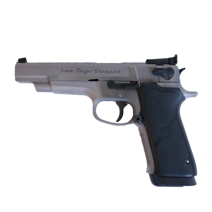 Smith & Wesson Target Champion 9 mm VERKOCHT